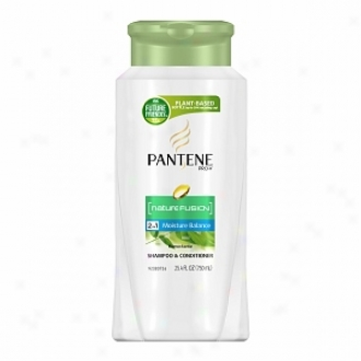 Pantene Pro-v Nature Fusioh Dampness Balance 2 In 1 Shampoo & Conditioner
