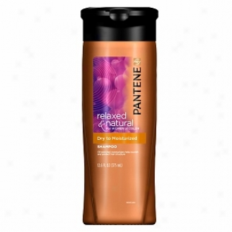 Pantene Pro-v Relaxed & Natural For Women Of Color Shampoo, Dry To Moisturized
