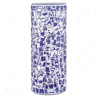 Paulmann Lighting Interchangeable Lamp Shade 99846, Blue And Dichroic Fabro