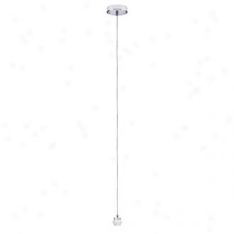 Paulmann Lighting Single Pendant Ceiilnt Fixture Hanging Lamp 99836, Chrome