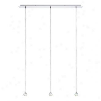 Paulmann Lighting Treble Pendant Ceiling Fixture Hanging Lamp 99838, Chrome