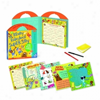 Peacrable Kingdom Press Really Ridiculous Game Time Write & Wipe Activity Tote Ages 7-10