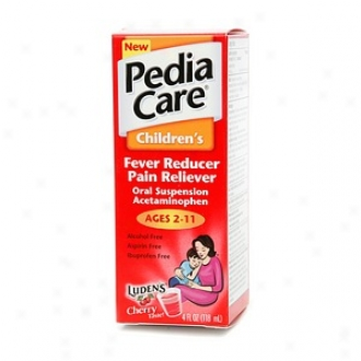 Pediacare Children's Fever Reducer/pain Reliever, Cherry