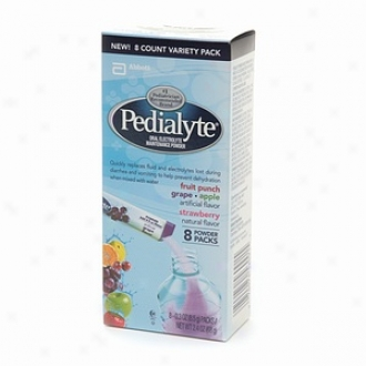 Pedialyte Oral Electrolyte Maintenance Pkwder, Variety Pack