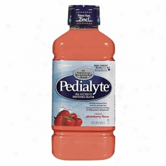 Pedialyte Oral Eectrolyte Maintenance Solution, Strawberry