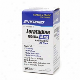 Perrigo Loratadine 10 Mg Tablets 2 Hour Antihistamine