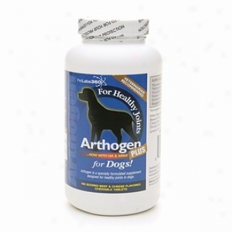 Petlabs360 Arthogen Plus, With Ha &  Msm For Dogs, Beef & Cheesse Flavor