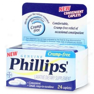Phillips Cramp-free Laxative, Caplets