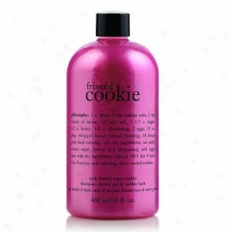 Philosophy Pink Frosted Sugar Cookie Shampko, Shower Gel & Bubble Bath