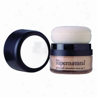 Philosophy The Supernatural Canvas, 4 In 1 Mineral Foundation - Spf 15, Natural Ivory 10