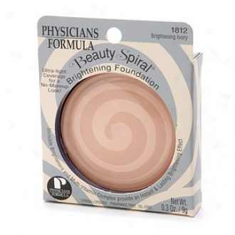 Physicians Formula Beauty Spiral Brightening Foundation, Brightening Ivory 1812