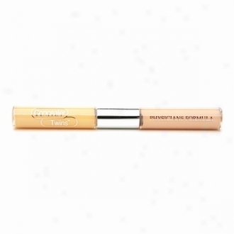 Physicians Formula Concealer Twins Correct & Cover Choice part Concealer, Yellow/light 3056