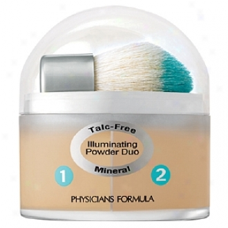 Physicians Formula Mineral Wear Duo Talc Free Mineral Illuminating Powder, Natural/beige 7028