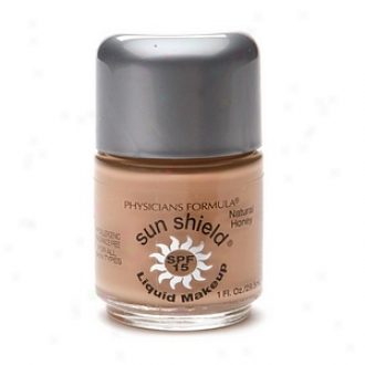 Physicians Formula Sun Shield Liquid Makeup Spf 15, Natural Honey