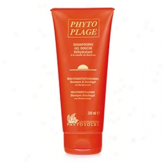 Phyto Plage Moisturizing Hair And Body Waste With Bamboo Marrow