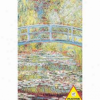 Piatnik Monet Japanese Bridge Jigsaw Puzzle Ages 12 And Up