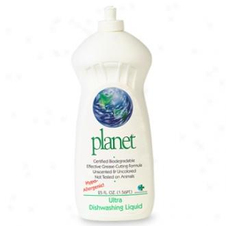 Planet Ultra Dishwashing Liquid, Hypo-allergenic