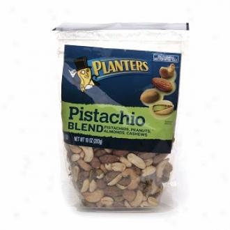 Planters Pistachio Blend, Pistachios, Peanuts, Almonds, Cashews