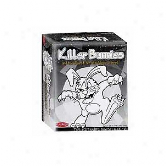 Plauroom Entertainment Killer Bunnies Quesr For Magic Carrot Twilight White Booster Exp. Deck Ages 12+