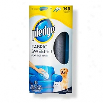 Pledge Fabric Sweeper For Pet Hair Multi-use Disposable Sweeper