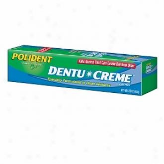 Polident Denture Paste, Triple Mint Freshness
