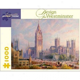 Pomegranate Communications Design For Westminster Puzzle 1000 Pcs Ages 12+