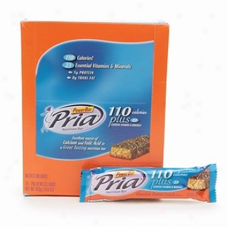 Powerbar Pria Nutrition Bars, Chocolate Paenut Crunch