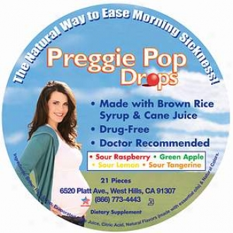 Preggie Pops All Natural Forenoon Sickness Drops