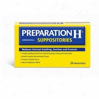 Preparatoon H Hemorrhoidal Suppositories