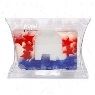 Primal Elements Handmade Vegetable Glycerine Soap, Political Series!, Republican
