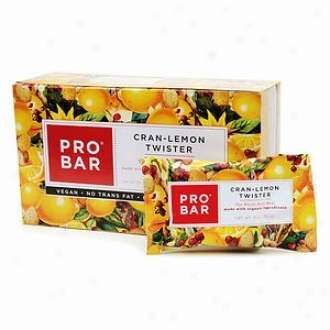 Probar Simply Real Whole Food Meal Bar, Cran-lemon Twister