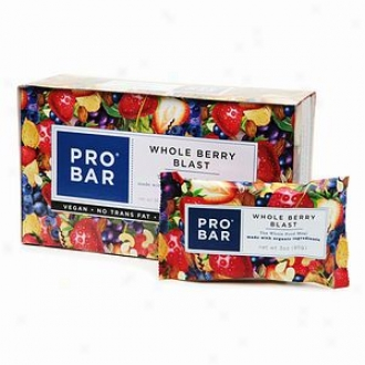 Probar Simply Actual Wyole Food Meal Bar, Whole Berry Blast