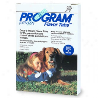 Program Flavor Tabs Recommended For Dogs And Puppies 46-90 Lbs. In Weight