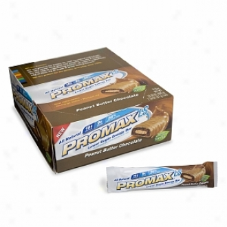 Promax Nutrition Lkwer Sugar Energy Barx, Peanut Butter Chocolate