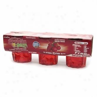 Protica Protein Gem, Protein Gelatin, 6 Fl Oz Cups, Fruit Punch