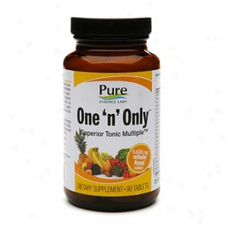 Pure Essence Labs Individual 'n' Only Superior Tonic Multivitamin, Tablets