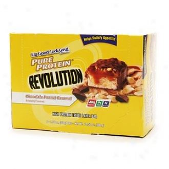 Pure Protein Revolution, High Protwin Triple Layer Obstacle, Chocolate Peanut Caramel
