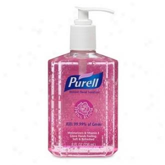 Purell Instant Hand Sanitizer Pump Bottle, Spring Bloom