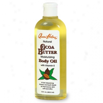 Queen Helene Natural Cocoa Butter Moistuizing Body Oil With Vitamin E
