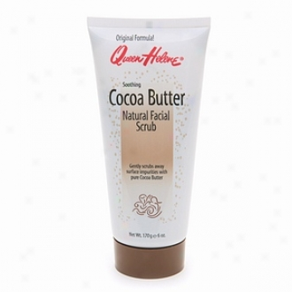 Queen Helene Soothing Cocoa Butter Natural Facial Scrub