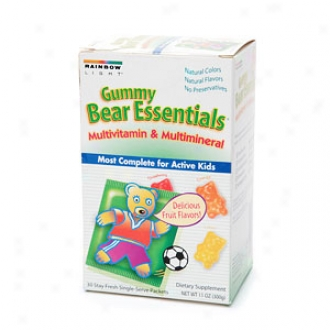 Raonbow Light Gummy Bear Essentials Multivitamin & Multimineral