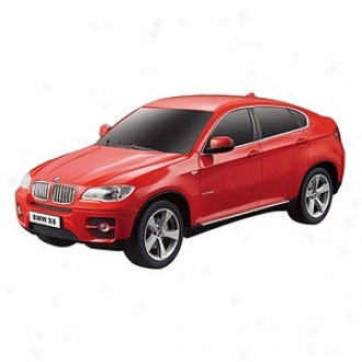 Rastar Bmw X6 Radio Remote Control, Model Car, Scale: 1:24