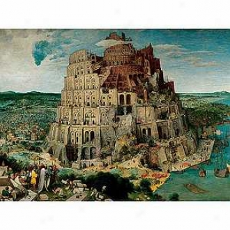 Ravensburger The Tower Of Babel 5000 Composition Jigsaw uPzzle Ages 10+