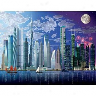 Ravensburger World's Highest Buildings: 2000 Pc Ages 12 And Up