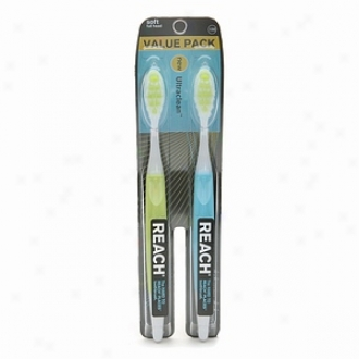 Reach By Design Superior Performance Toothbrush, Hold Full Head