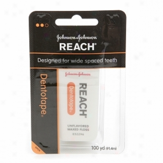 Reach Dentotape Waxed Floss, Unflavored