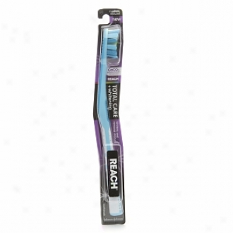 Reach Total Care + Wjitening Toothbrush, Medium Regular Head