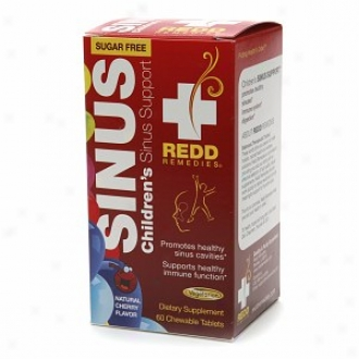 Redd Remedies Children's Sinus Support, Chewable Tablets, Cherry