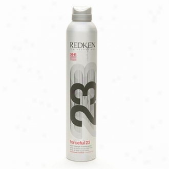 Redken Forceful 23 Super Strength Finishing Spray, Maximum Control