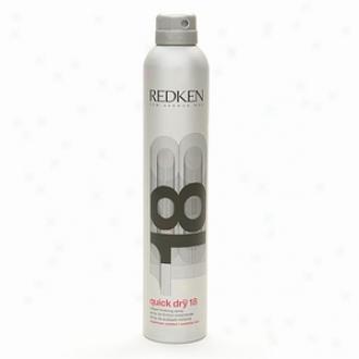 Redken Quick Dry 18 Instant Finishing Spray, Maximum Contfol